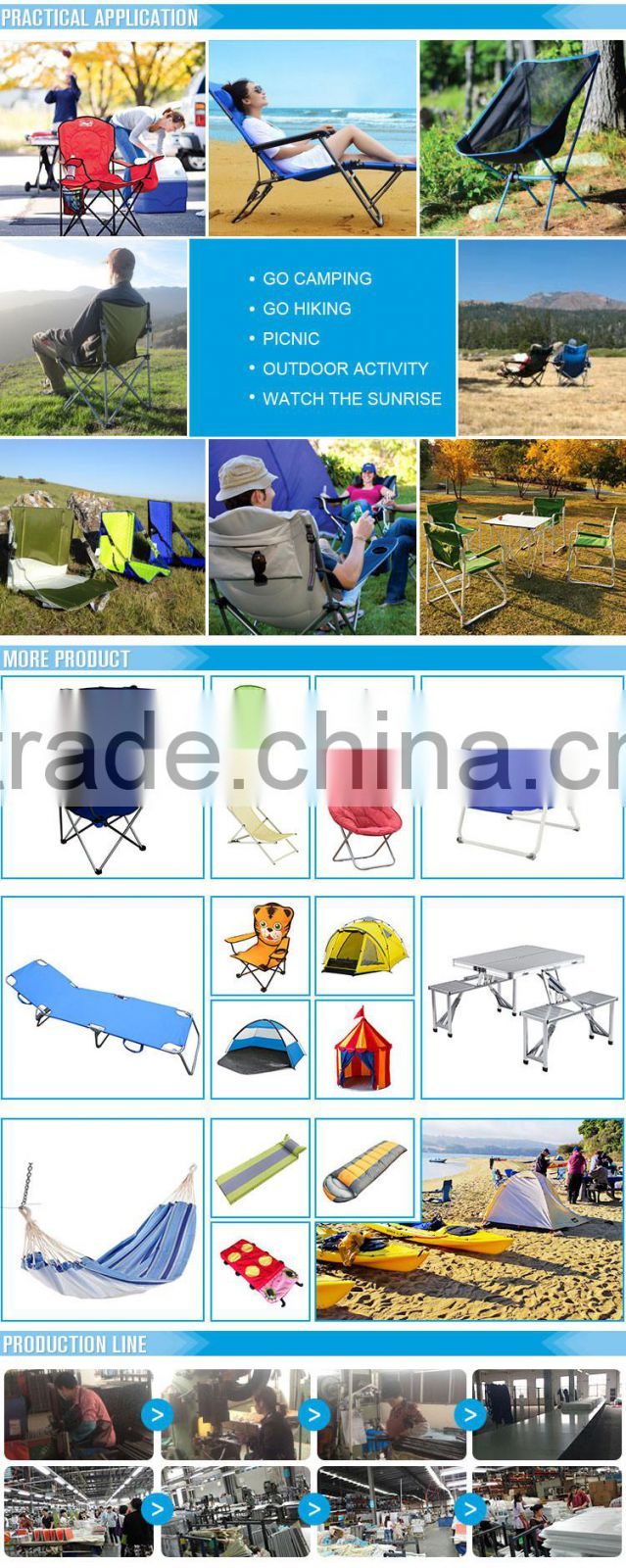 Garden Portable Reclining Chair/Folding Recliner Chair With Footrest