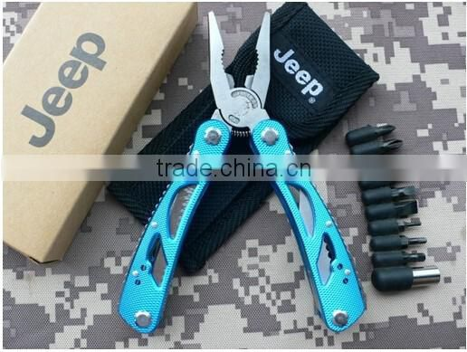 wholesale metal Multi-function spoons forks bottle opener can opener Hex key outdoor tools