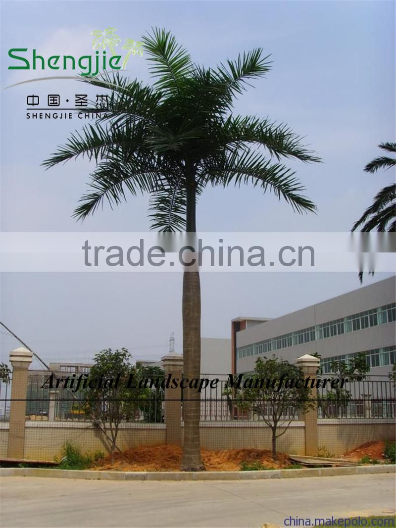 cheap Artificial coconut trees,outdoor coconut palm tree plastic tall tree