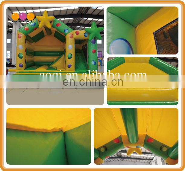 inflatable supplier kids outdoor toy star inflatable slide jumper combo bouncer