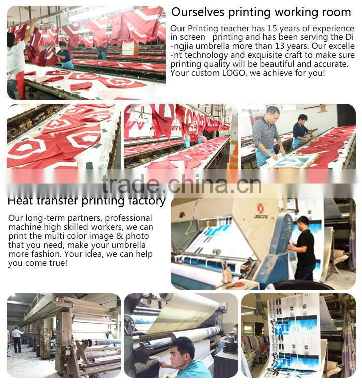 straight heat transfer news paper printing custom printing umbrella