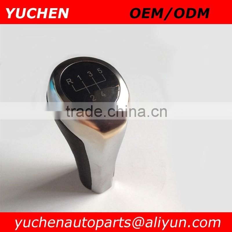 Factory Wholesales YUCHEN Car Leather Gear Shift Knob Cover For BMW 1 3 5 6 Series E30 E32 E34 E36 E38 E39 E46 E53 E60 E63