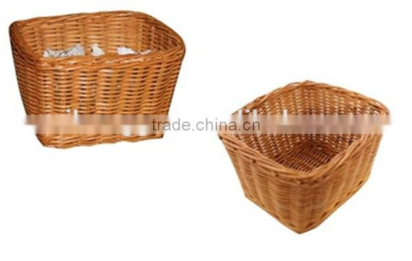 RH-YF09 high quality wholesale large rectangular wicker storage basket