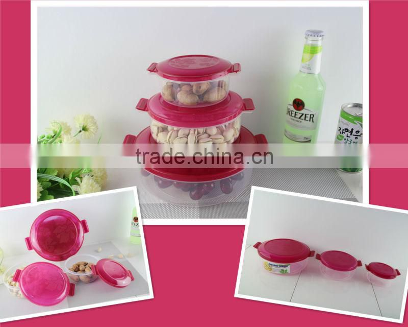 Popular and durable plastic container with lid