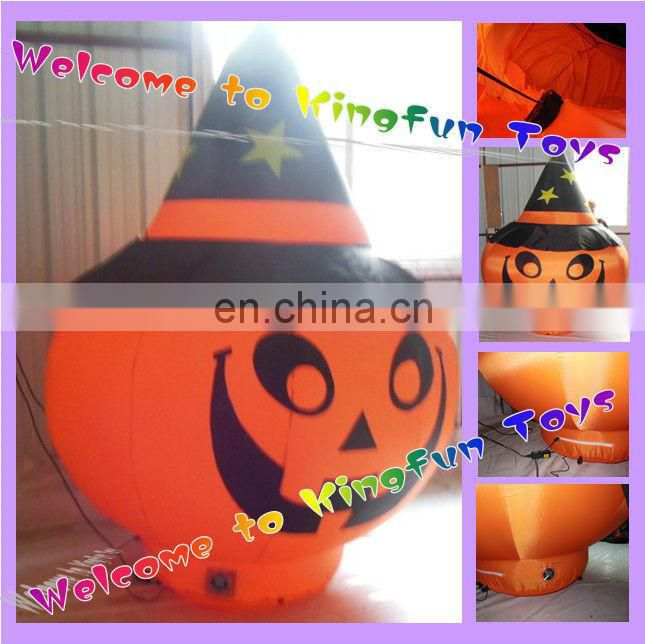 Lighting witch inflatable halloween decorations