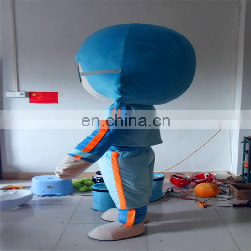 Factory directly sale Lovely mascot costume for advisting Human costume