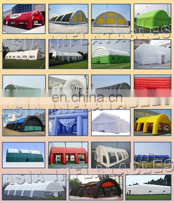 Custom PVC Inflatable Bunkers For Sale Military Laser Tag Arena