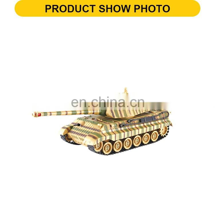New design 7 channel infra-red remote control toys rc plastic tank