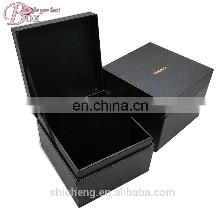 Accept Custom Watch Jewelry Packaging Box with Velvet