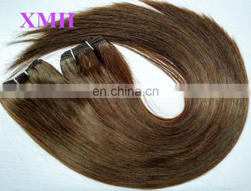 Quality Guaranteed China Factory Wholesale Brazilian Hair Extensions Machine Double Weft Sealed