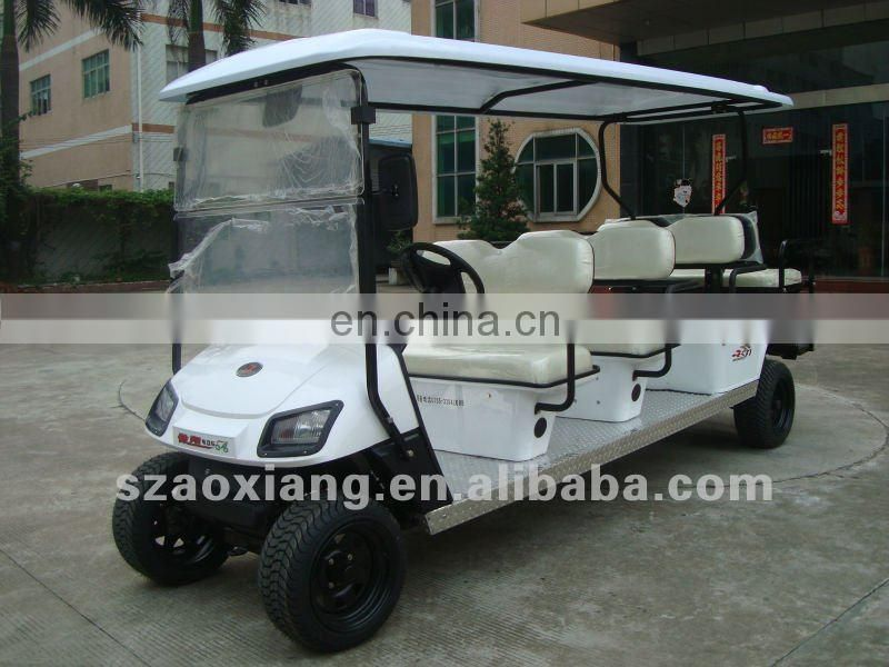 Top sales green 8 9 10 seater electric sightseeing car for sale