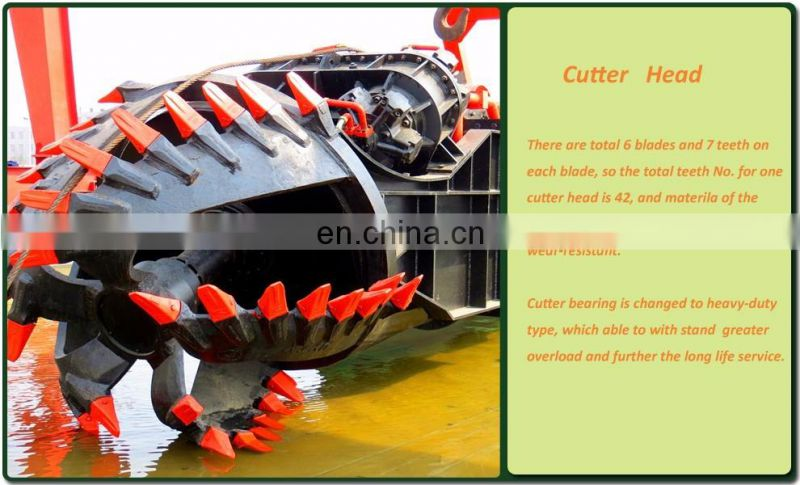 2000m3 China Cheap Dredger Manufacture for River Dredging