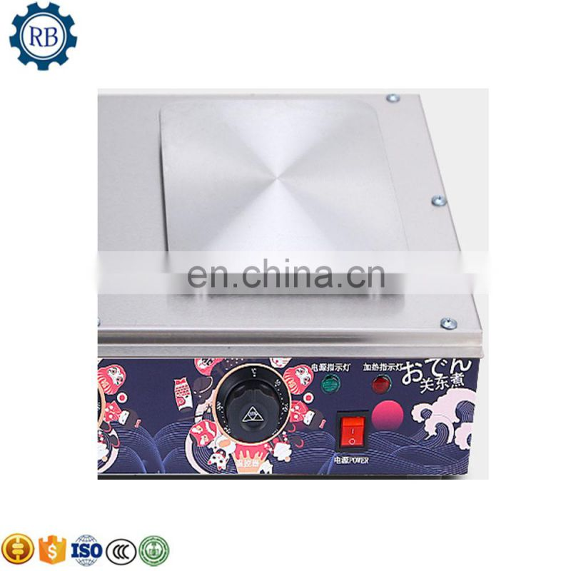 Competitive prices Electric Oden Machine Donut Fryer with a dust cover