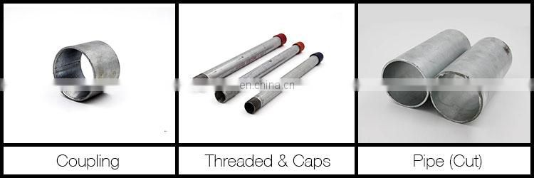 25.4mmx1.2mm galvanised steel tubes, galvanized steel pipe for greenhouse frame