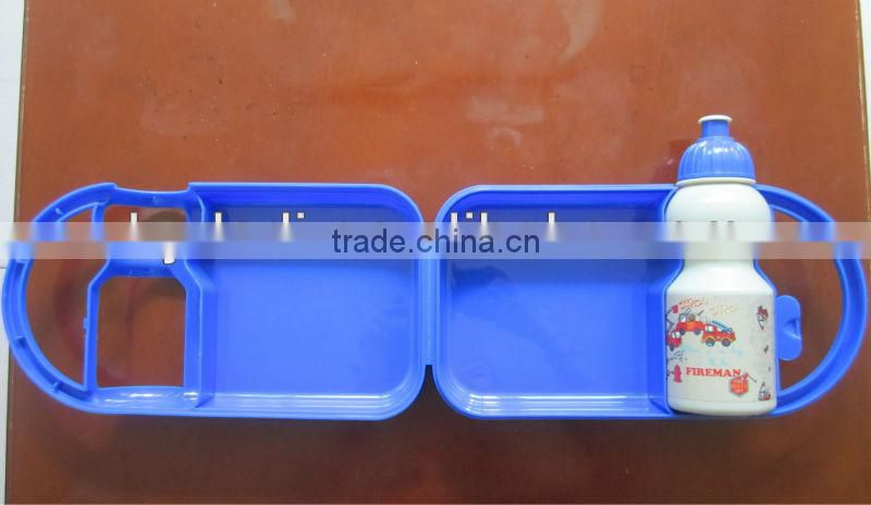 Alibaba high quality plastic lunch box,designer lunch box 2016