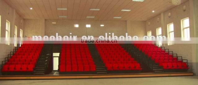 Ceremony Retractable Seating System Used Chair Telescopic Bleacher For Sale