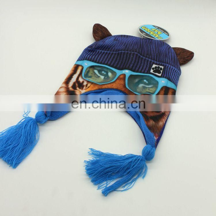sublimation printing lovely beanie hats