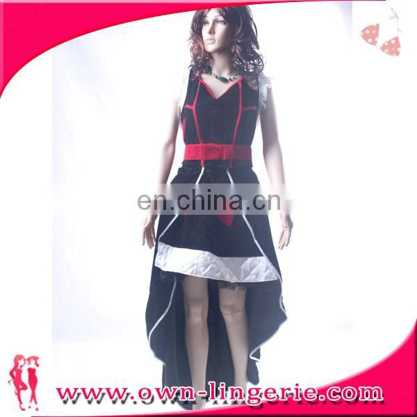 adult cosplay costume sexy white snow queen costume dress