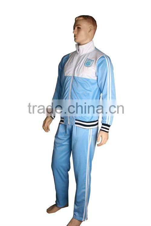 100% Polyester Cheap Custom Men's Sports Tracksuit