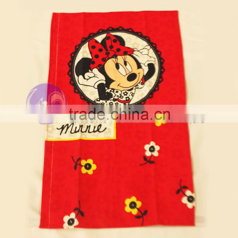 "china wholesale disney"" audited factory Christmas printed cotton tea towel"