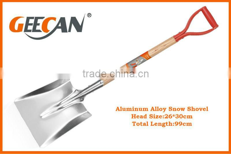 2014 fashionable Aluminum snow shovel