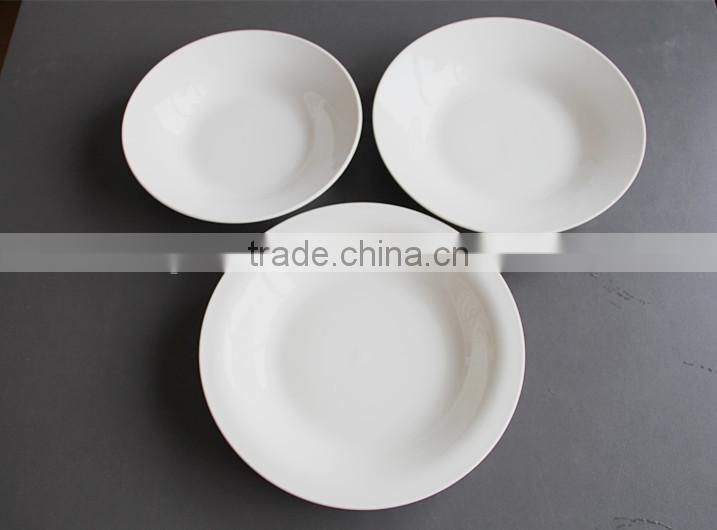 cheap color glazed stoneware dinner set