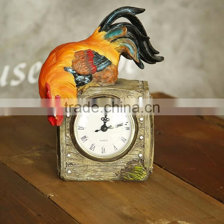Hot Selling China Manufacturer wholesale antique decoration table clock