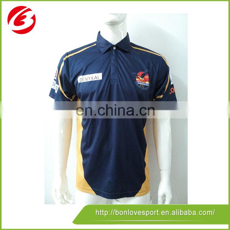 Digital Print With Pattern Sublimated Polo Shirts