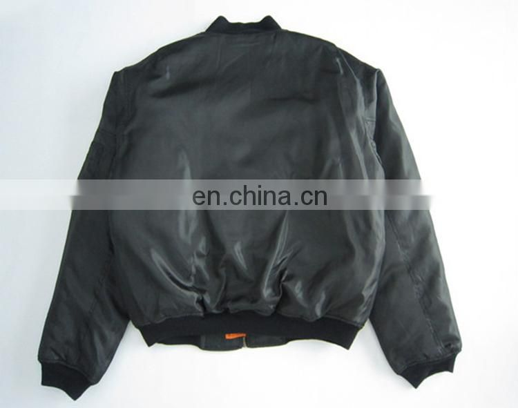 New hot selling products custom bomber jacket cotton flight for men jackets