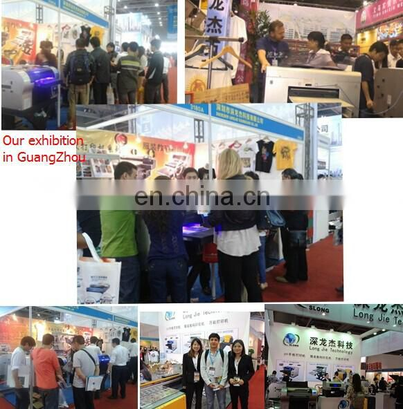 SLJET guangdong a3 home textile logo inkjet printer printing machine China made in korea