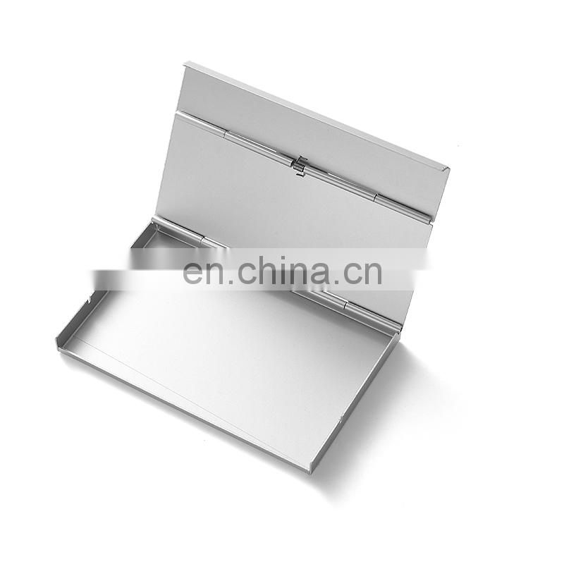 free design customized name card holder , metal card case