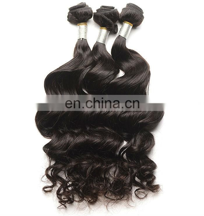 natural short hair styles Peruvian natural wave human weave