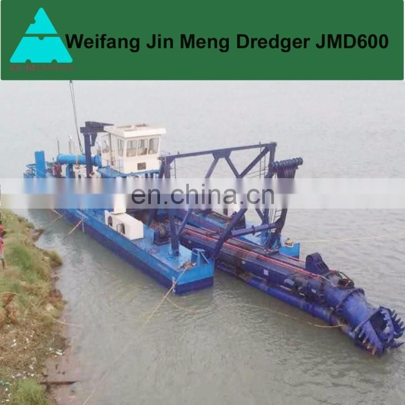 3500m3 River Suction Dredger Sand Ship with Cutter Head