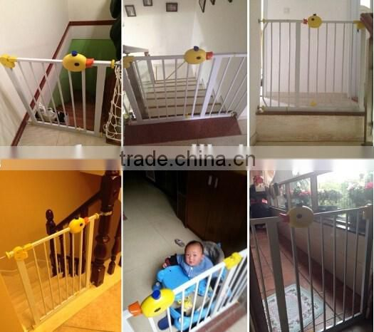 High quality adjustable baby safety gate/pet friendly gate