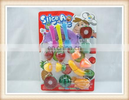 funny plastic cutting fruits toy kids cooking play set toys