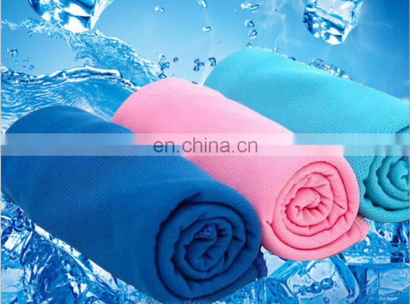 China factory wholesale hot sale microfiber sports cooling towel