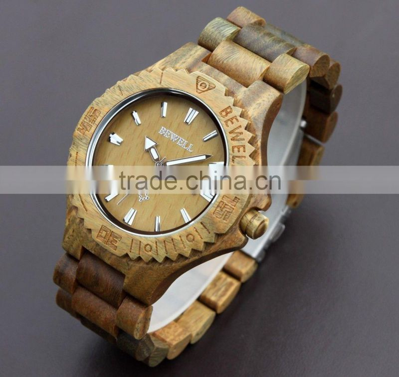 Relogio Alibaba Express Unisex Popular Natural Wood relogio masculino made in china