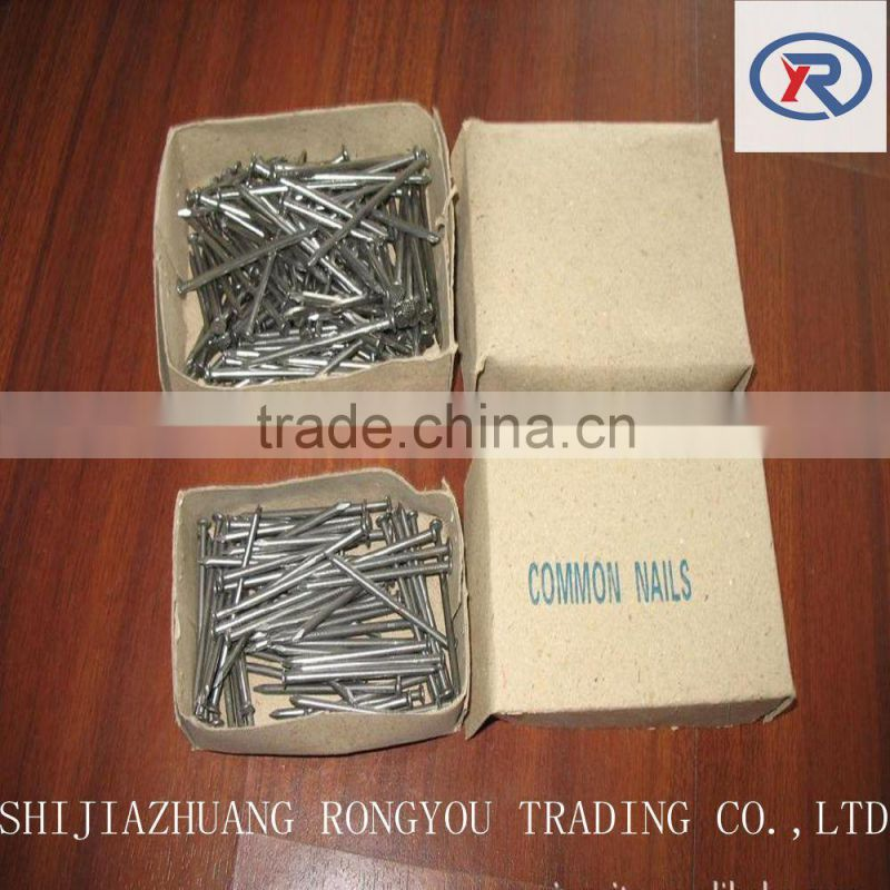 polished iron nails,bright common wire nail for construction