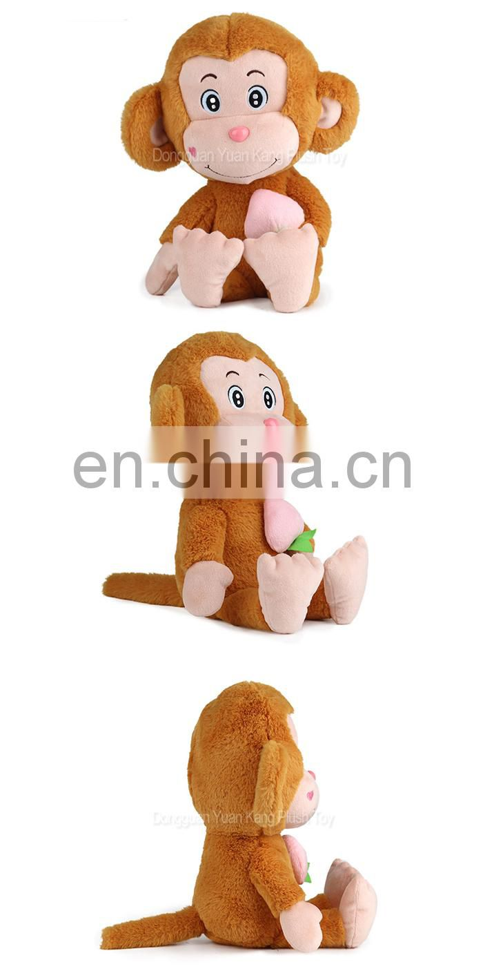 Low Price Customized Cute Pet Make Your Own Personality Soft Plush Stuffed Monkey Toy