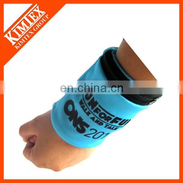 Terry cloth customized cheap terry wristbands