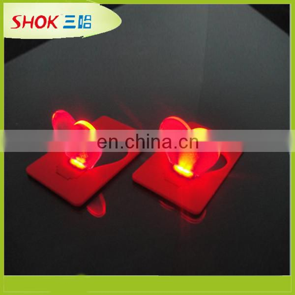 2015 new product led card light for beautiful shapes