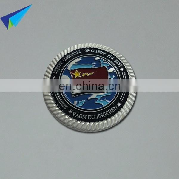 High quality cheap Custom gold plated tungsten coin