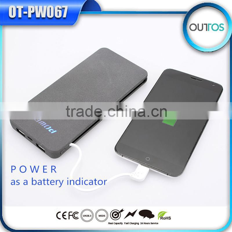 Build-in Cable Power Bank 10000mAh OEM&ODM Service Available