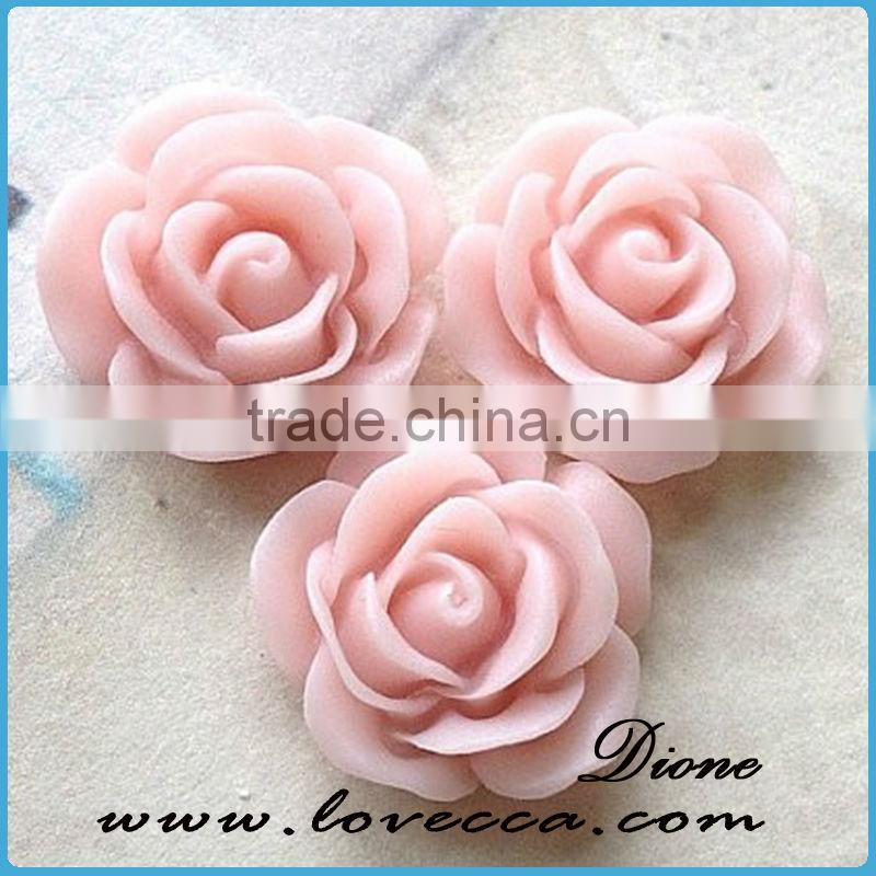 Factory Wholesale flower Resin Cabochons resin flower