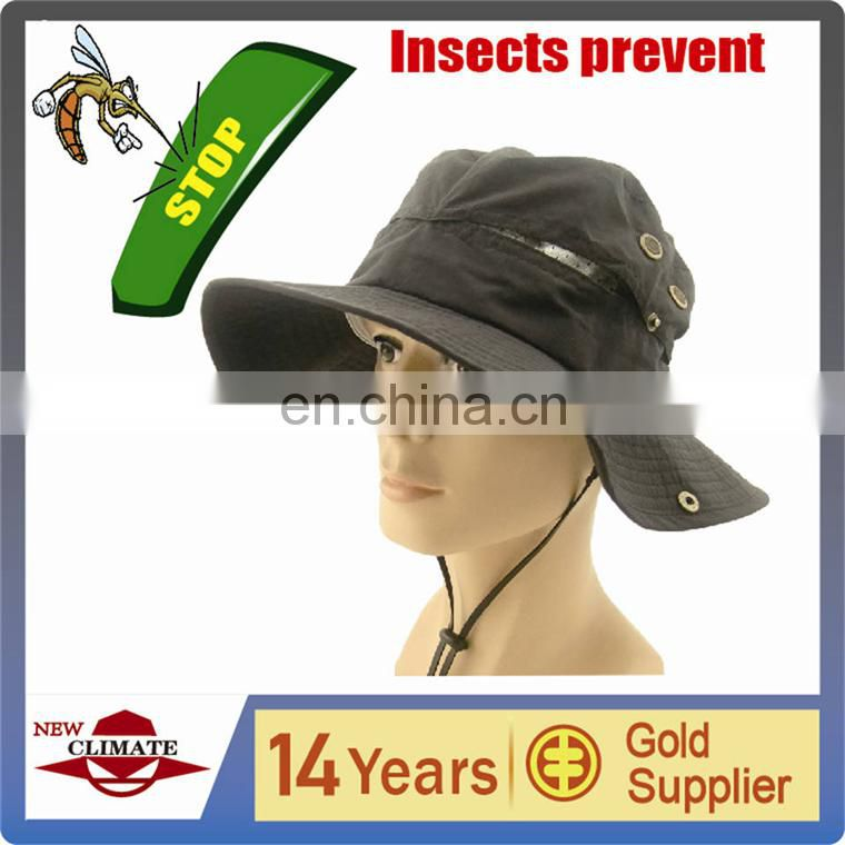 2015 new Insect prevent hat high-tech hat,OEM hat,UV hat,mosquito prevent hat