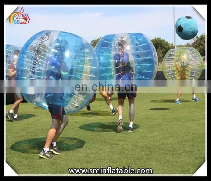 Crazy selling inflatable lawn soccer ball ,pit bumper ball inflatable ball,large inflatable body bubble ball for kid and adult