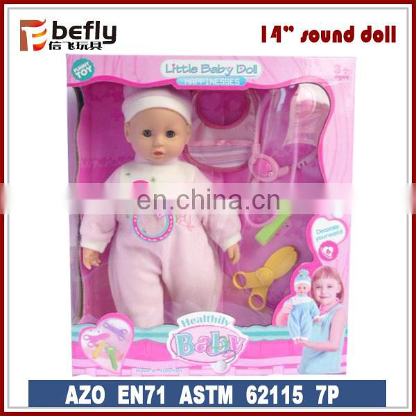 Musical electric walking baby doll for kid