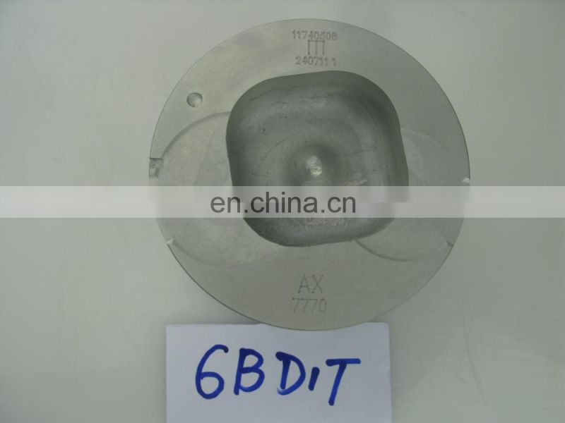Factory Direct Sale Genuine Piston Stock 6BD1T 1121117770 for vehicle diesel engine