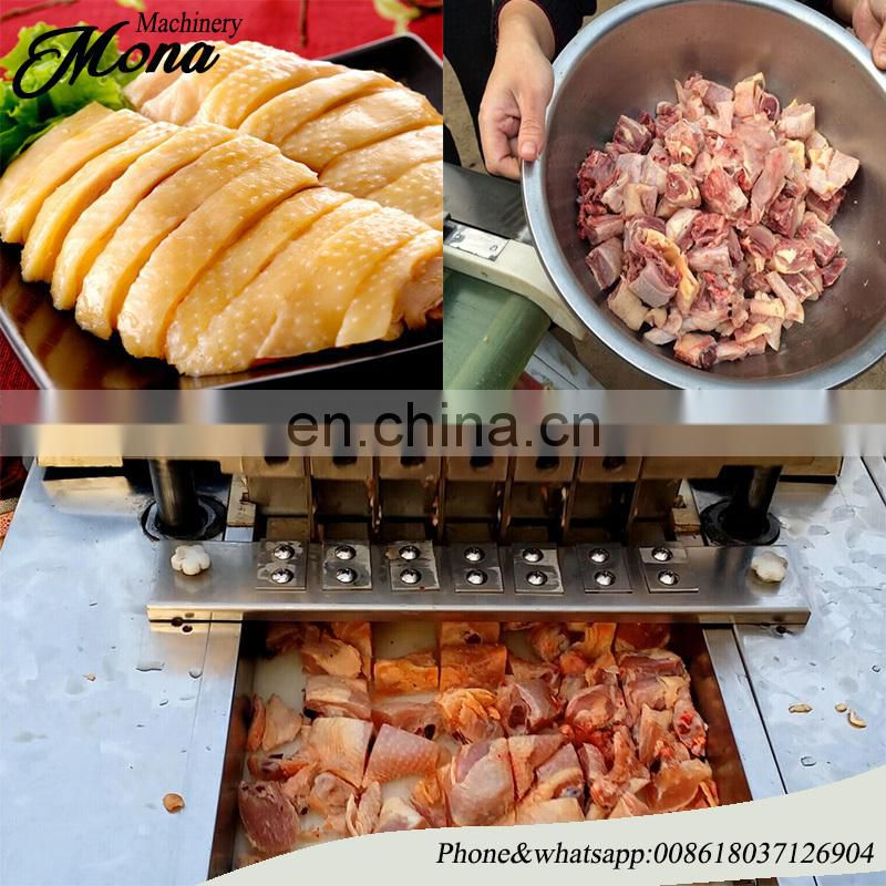 frozen chicken meat slicer cutter
