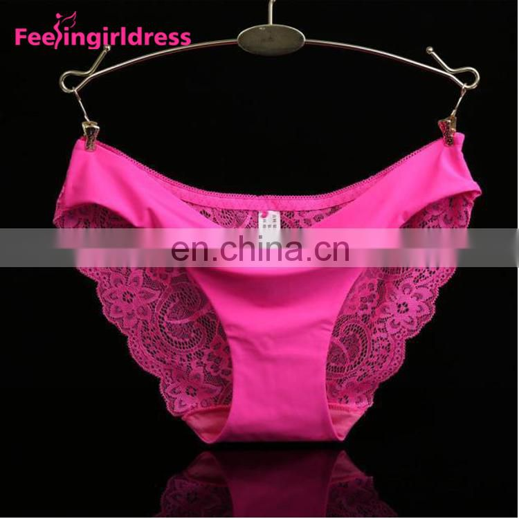 Hot Sale New Style Comfortable Lace Sexy Lady Panties Lingerie Underwear